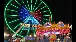 Download Amusement Park - Theme Park & Carnival FunFair Rides, Ferris Wheel, Carousel Video