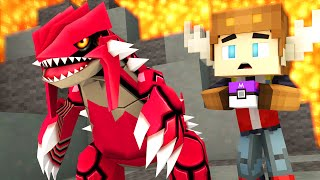 Download CATCHING GROUDON IN POKEMON GO! (Minecraft Roleplay) Video