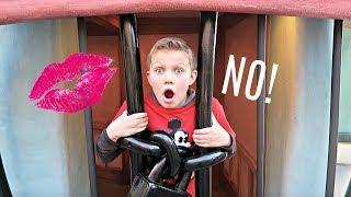 Download DON'T GET KISSED AT DISNEYLAND!   Hide and Seek Video