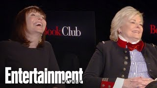 Download 'Book Club' Stars Jane Fonda, Candice Bergen Give Expert Dating Advice | Entertainment Weekly Video