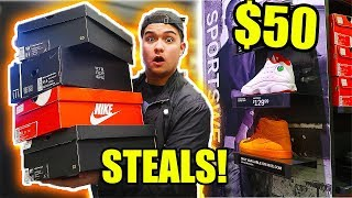 Download BUY ANY SNEAKER FOR ONLY $50 AT NIKE OUTLET!! (THE SECRET) Video
