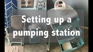 Download How I set up my Breast Pumping Station Video