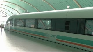 Download Shanghai Maglev - World's Fastest Commercially Operating Train Video