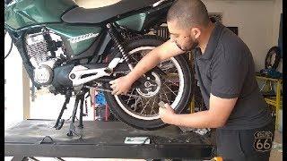 Download Como esticar a corrente da moto Video