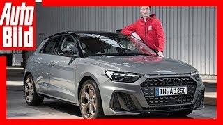 Download Audi A1 (2018) Sitzprobe im neuen A1 Video