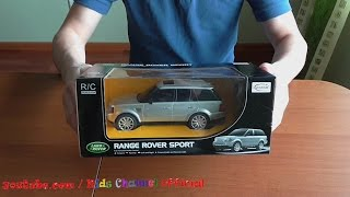 Download Radio Control car toy Range Rover Sport Video