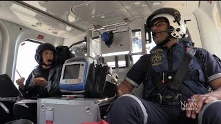 Download Day-in-the-life of an ORNGE air ambulance service member Video