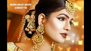 Download Latest Real Bridal HD makeup anurag sir call 9920127706,,9830056328 Rohit Video