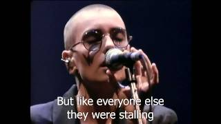 Download Sinéad O'Connor - Feel So Different [Live 1990] HD Lyrics Video
