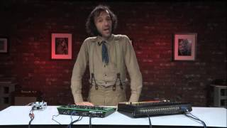 Download Daedelus compares the Roland TR-808 vs. TR-8 Video