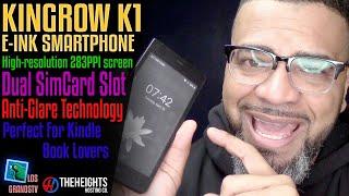 Download #Kingrow K1 E-Ink Smartphone📱 : #LGTV Review Video