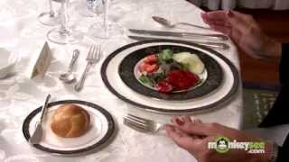 Download Basic Dining Etiquette - The Salad Course Video