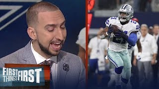 Download How will the Cowboys fare with Ezekiel Elliott suspended for 6 games? | FIRST THINGS FIRST Video