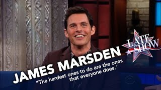 Download James Marsden's Matthew McConaughey Impression Is Glorious Video
