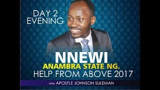 Download NNEWI - ANAMBRA STATE OUTREACH, LIVE BROADCAST WITH APOSTLE JOHNSON SULEMAN Video