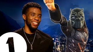 Download ″You're like a kid when you play a superhero!″ Chadwick Boseman on becoming Black Panther. Video