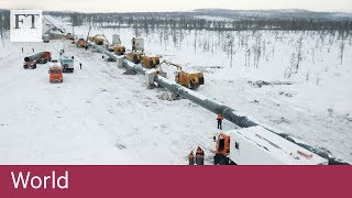 Download Russia turns to China with landmark gas pipeline Video