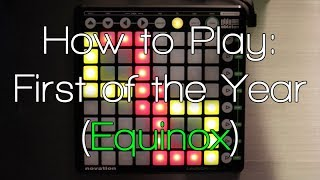 Download Nev Teaches: How to Play Skrillex - First of the Year (Equinox) Launchpad Tutorial Video
