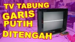 Download TV Tabung Garis Putih Di Tengah Layar VLOG41 Video