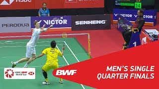 Download MS | Viktor AXELSEN (DEN) [1] vs Jonatan CHRISTIE (INA) | BWF 2018 Video
