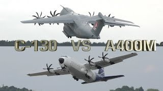 Download Hercules C-130 vs Airbus A400M Which one Better ? Video
