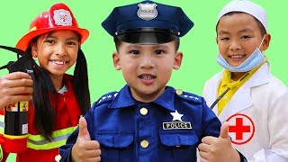 Download Jobs Career & Professions Song | Wendy & Friends Pretend Play Nursery Rhymes Kids Songs Video