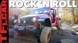 Download Can a New Lifted and MOPARized Jeep Wrangler JL Tame the Rubicon Trail? Video