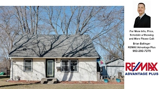 Download 9318 Stevens Avenue S, Bloomington, MN Presented by Brian Ballinger. Video
