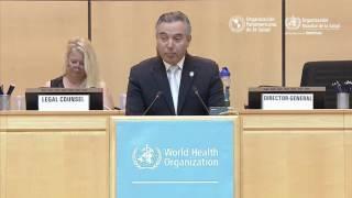 Download El ministro de Salud de Costa Rica, Dr Fernando Llorca, en la 70ª Asamblea Mundial de la Salud Video