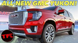 Download The 2021 GMC Yukon Is A XXXL American SUV — See It Here First! Video