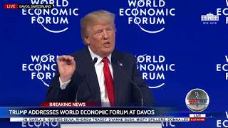 Download 🚨FULL SPEECH: President Donald Trump Davos Speech 1/26/18 Video