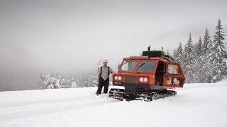 Download Deep Snow Camping on a Snowcat - Adventures of My Life Video