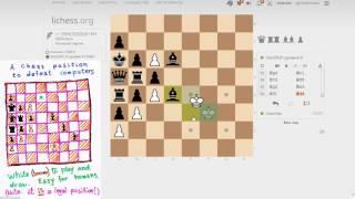 Download Шахматная задача Пенроуза - Решение 2 - Пат в 100 ходов! Video