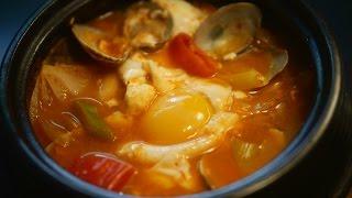 Download 바지락 순두부 찌개 Video