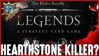 Download The Elder Scrolls: Legends - Hearthstone Killer? Video