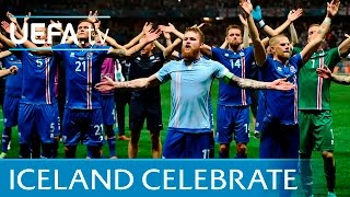 Download Iceland celebrations vs England in full: Slow hand clap Video