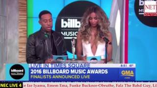 Download Ciara refuses to say Future's name during Billboard Music Award nominee announcement Video