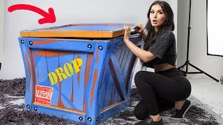 Download UNBOXING A REAL LIFE FORTNITE SUPPLY DROP Video