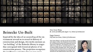Download Beinecke Unbuilt by Shuo Susan Wang Video