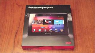 Download Blackberry Playbook Unboxing - Get Out of the Box Video