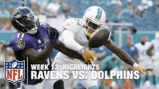 Download Ravens vs. Dolphins | Week 13 Highlights | NFL Video
