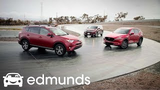 Download Top SUVs, Track Tested: Honda CR-V, Toyota RAV4 and Mazda CX-5 Who Wins? Video