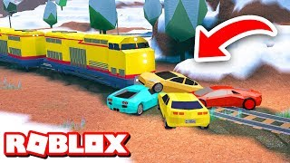 Download STOPPING THE TRAIN!!   Roblox Jailbreak Prank Video
