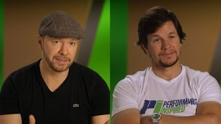 Download EXCLUSIVE: Mark and Donnie Wahlberg Compete Against Their Brothers For the Title of 'Favorite Son' Video