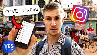 Download SAYING YES TO A CRAZY INSTAGRAM DM (Flew to INDIA!!) Video