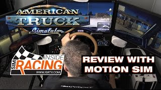 Download American Truck Simulator Review in Motion Simulator Video