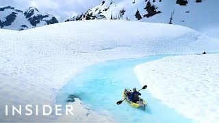 Download Reach These Breathtaking Glacier Melts By Helicopter Video