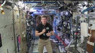 Download Space Station Crew Member Discusses Life in Space with Discovery Channel Video