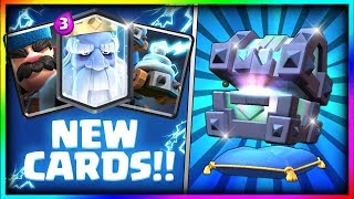 Download OPENING ALL NEW CHESTS! Legendary Kings Chest, Fortune Chest, Lightning Chest Opening - Clash Royale Video
