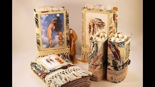 Download The Song of Hiawatha - a junk journal collection Video